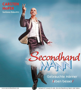 Plakat Secondhand Mann